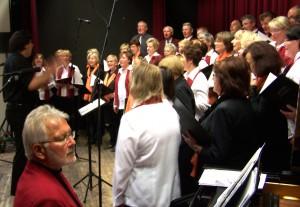 Langebrücker und Radebeuler Sänger vereint