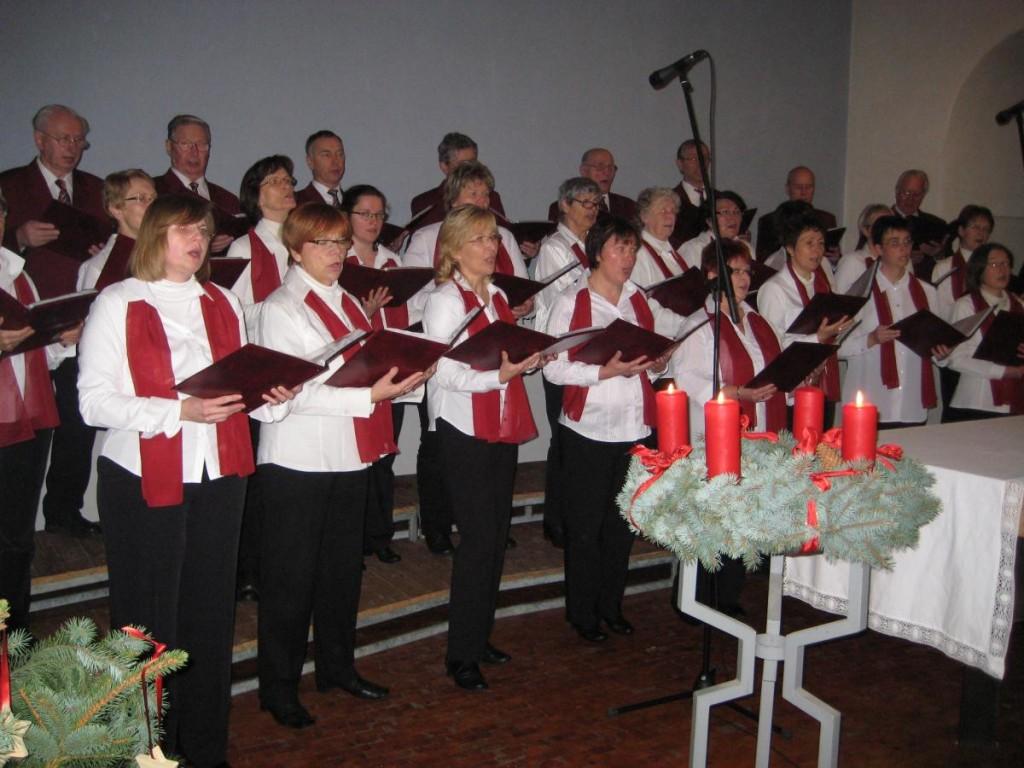 Nicodéchor-Weihnachtssingen 2012