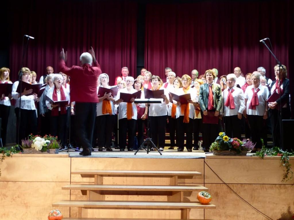 gemeinsamer Chorauftritt