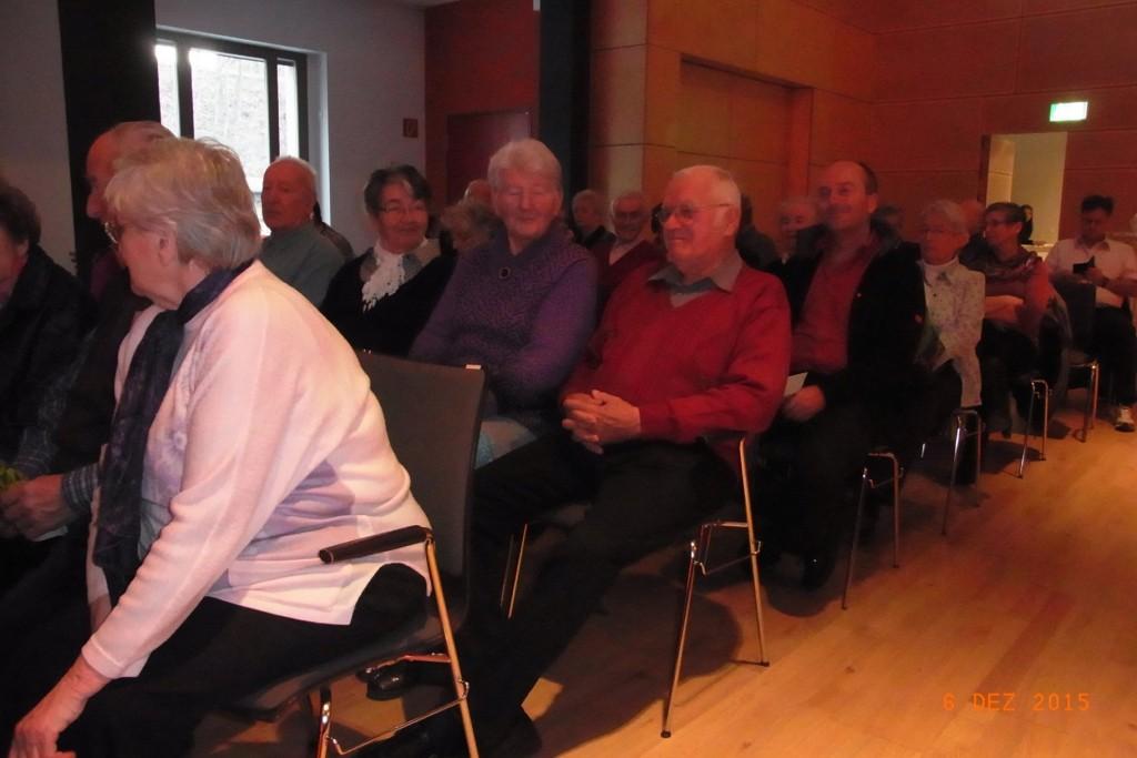 Zuschauer im Bürgerhaus