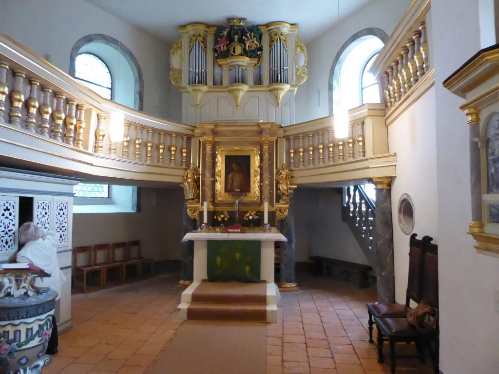 Wundervoll sanierte Schloßkapelle