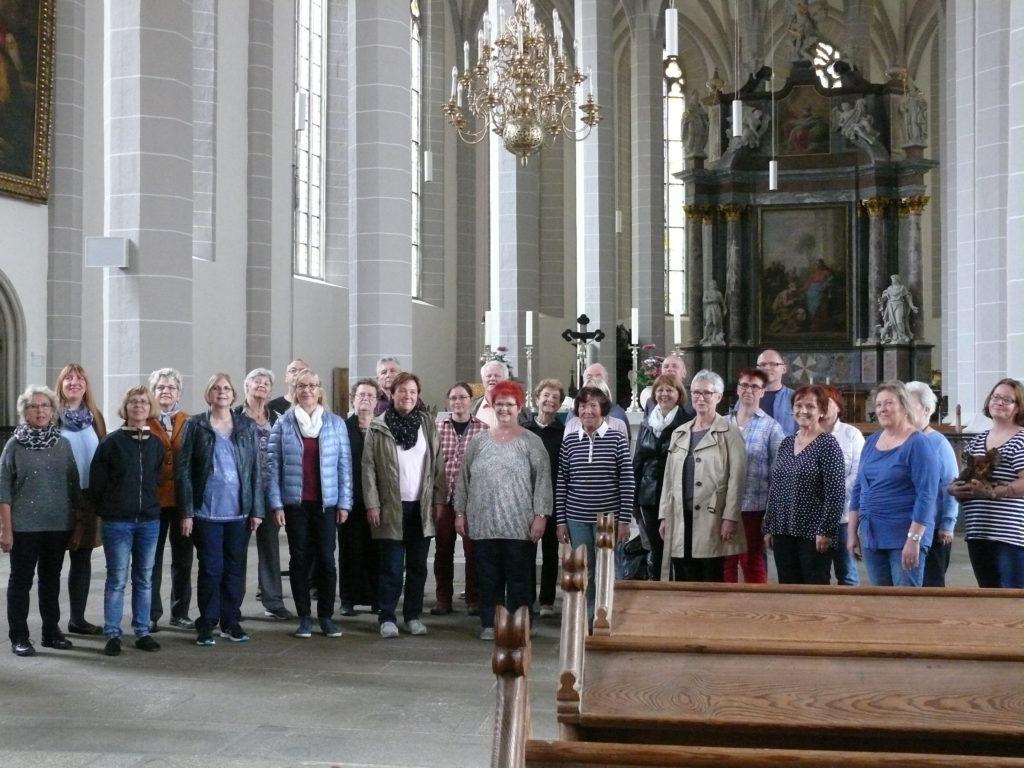 Chorauftritt im Bautzener Dom